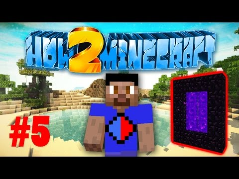 Minecraft SMP HOW TO MINECRAFT S2 #5 THE NETHER with Vikkstar