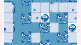 How to play Funny Blue Memory game | Free online games | MantiGames.com