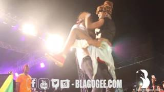 +18 Kranium, Episode dirty dance with lady at MTN Pulse concert