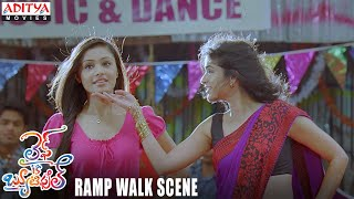 Life Is Beautiful - Anjala Zaveri Ramp Walk Scene - Life is Beautiful Telugu  Movie