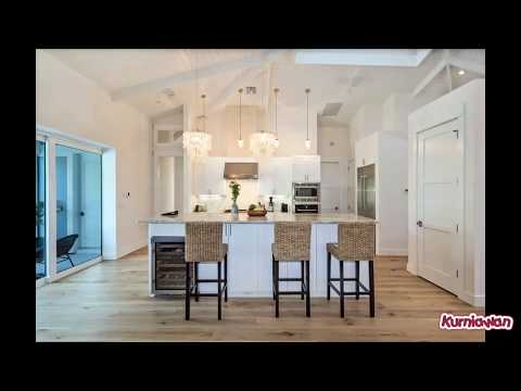 White Kitchens with Light Wood Floors