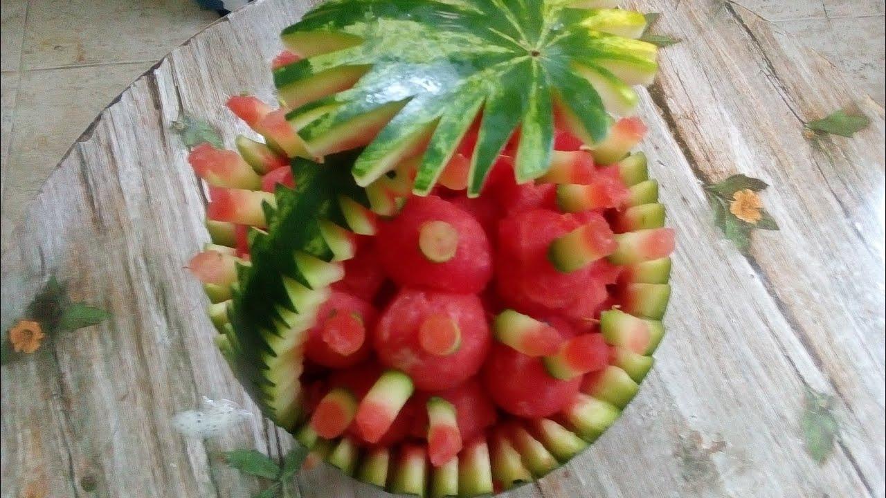 How To Decorate a Buffet With Vegetables and Fruits - ለቡፌ ማስጌጫ፤ ድግስ ሲኖር እንዴት አድርገን በአትክልት እንደምናሳምር