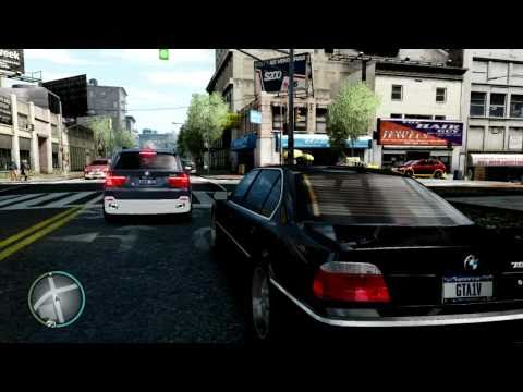 [GTA 4] Review : BMW 750iL e38. HD