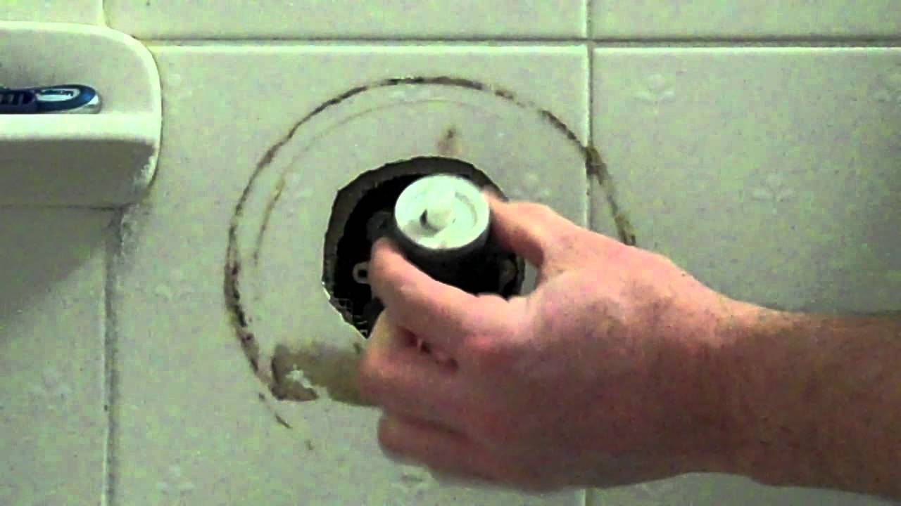 Repair Of Price Pfister Leaking Shower Tub Spout YouTube