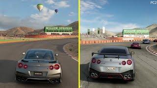 Gran Turismo Sport vs Project CARS 2 PS4 Pro Graphics Comparison
