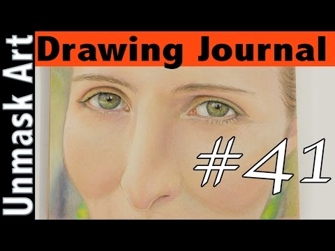 "Drawing Journal #41 ""Bad News, Good News & Big News"""