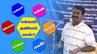 Seeman Speech – Ellaam Thaniyaarmayam