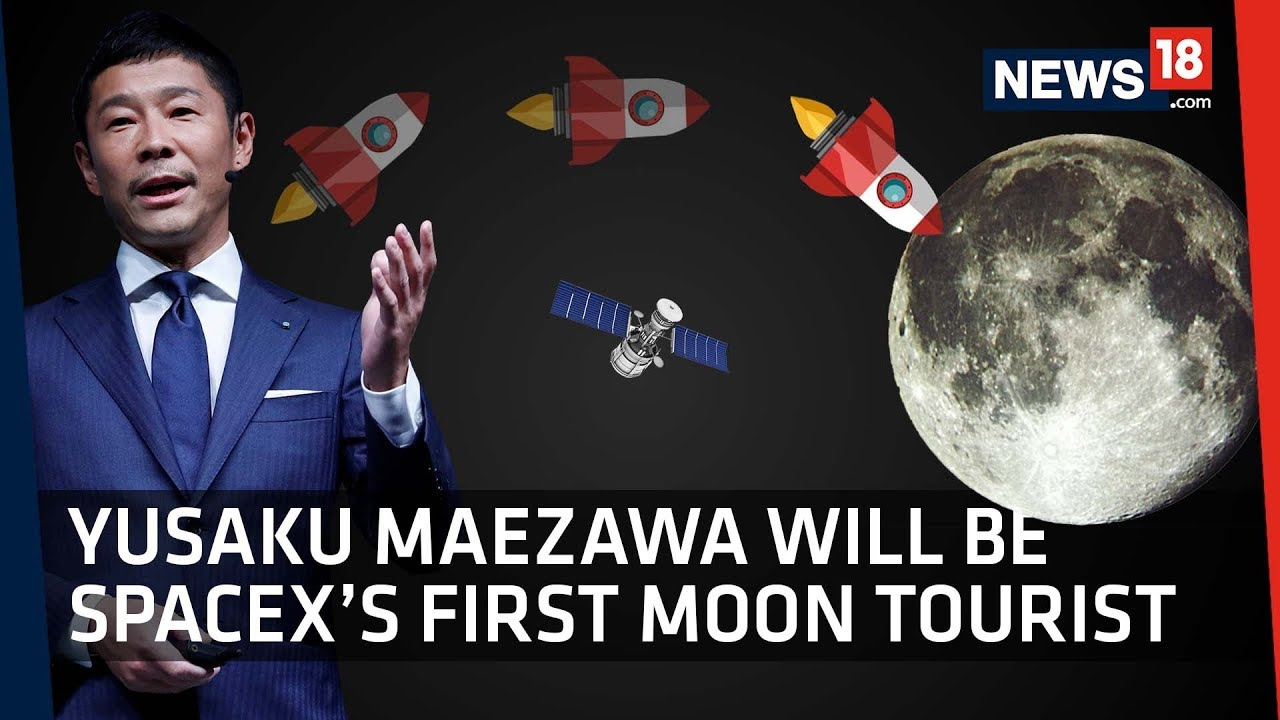 Yusaku Maezawa Is SpaceX's First Private Passenger On Moon Mission​