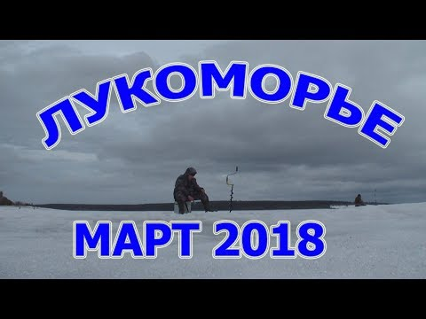 Зимняя Рыбалка. Лукоморье март 2018