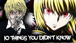 10 Things You Didn't Know About Kurapika Kurta - Hunter x Hunter