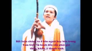 """Thanh Hải Vô Thượng Sư """" Tụng Kinh Tán Phật """""""
