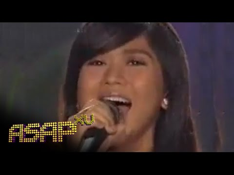 Sarah Geronimo Sings 'just Once' On Asap video