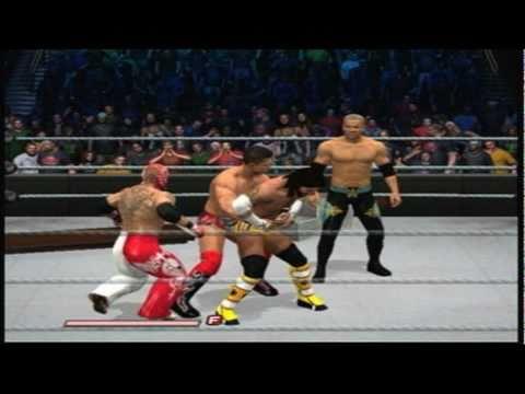 WWE Smackdown Vs Raw 2011 Gameplay