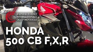 Honda CB500 f,r,x  - Salon EICMA 2018- nouveautés 2019