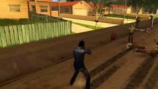 GTA San Andreas [The Walking Dead] mod