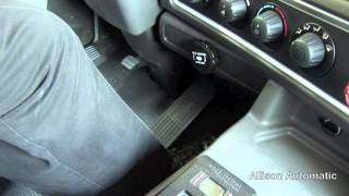 Allison Transmission Push Button shift Selector PBSS