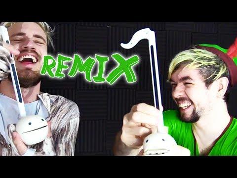 The PewDiePie & Jacksepticeye Song