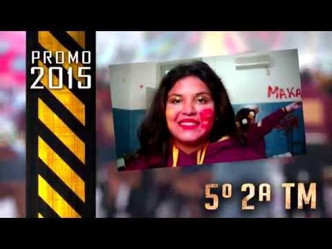 Presentación de buzos 5º 2ª Colegio Nacional 2015
