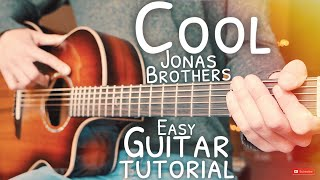 Cool Jonas Brothers Guitar Tutorial // Cool Guitar // Guitar Lesson #659