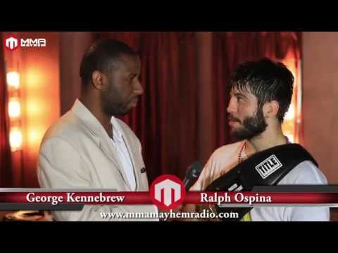 NFC #64 Post Fight Interview With Ralph Ospina
