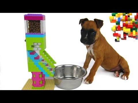 Lego Misty: Puppy Dog Food Machine by Misty Brick.