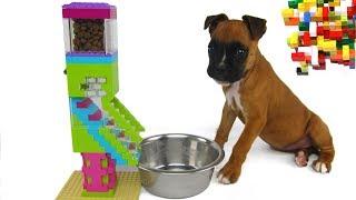 Lego Misty: Puppy Dog Food Machine by Misty Brick.