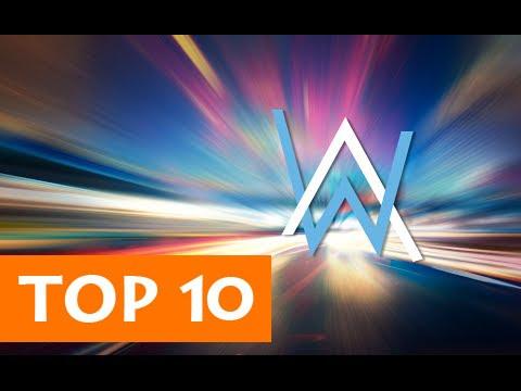 TOP 10 BẢN NHẠC ĐIỆN TỬ GÂY NGHIỆN CỦA ALAN WALKER | Top 10 Alan Walker 's Songs #1
