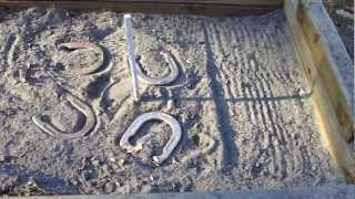 HORSESHOES *HOW TO BUILD A HORSESHOE PIT CHEAP