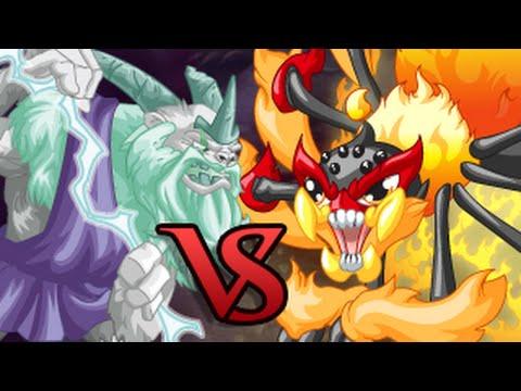 Miscrits Showdown #21: Elite Papa vs. Blazeweaver