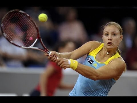 2013 Porsche Tennis Grand Prix QF WTA Highlights