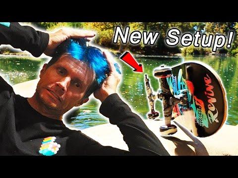 I Hydro Dipped My Skateboard Trucks!