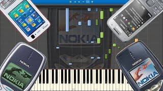 NOKIA TUNE HISTORY IN SYNTHESIA