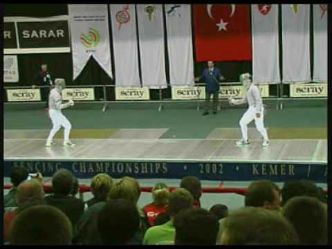 Boghicev(Ger)-Clement(USA) WM 2002 Semi-Final.MPG