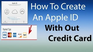 Create An Apple ID With Out A Credit Card