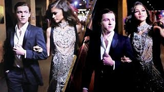 Download Lagu CAUGHT Zendaya and Boyfriend Tom Holland Go To Party Together Gratis STAFABAND