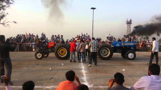 Tractor tochan in dhnansu with sawraj 855