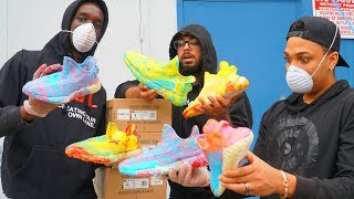 HYDRO Dipping 10 YEEZY'S!!!! (Giveaway)
