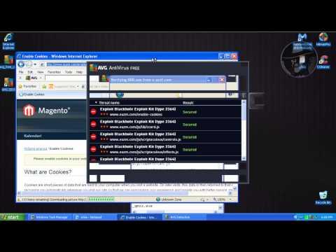 AVG Antivirus Free with Malwarebytes Anti-Malware Pro (Modified settings) - Test with more links