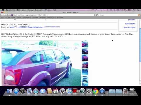 Craigslist Used Cars South Bend Indiana