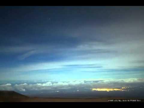 telescopio espacial de hawai graba dos soles