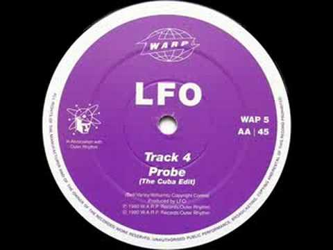 LFO - Track 4  (WARP 1990) CLASSIC TECHNO