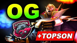 OG vs FlyToMoon - Topson is Back! - ESL One Birmingham 2020 DOTA 2