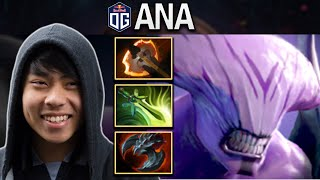 OG.ANA FACELESS VOID WITH 16-0 KD - DOTA 2 7.25 GAMEPLAY