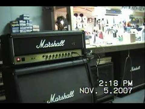 FJA Modded Marshall JCM900 SLX 3