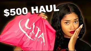 WHY DID I DO THIS!? $500 ULTA HAUL (Bri Hall)