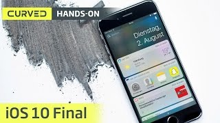 iOS 10: Die finale Version im Videorundgang | deutsch