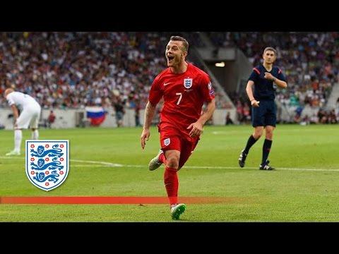 Wilshere's 1st goal - Slovenia 2-3 England   Goals & Highlights