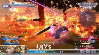 Dissidia Final Fantasy - Cloud Strife (Omnislash) gameplay 1 (Arcade 2016) JPN