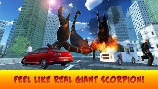 🦂Giant Scorpion Animal Attack People Game-Отака Гигантского Скарпиона - By Virtual Animals World