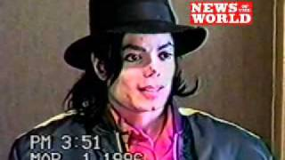 Previously unseen footage of Michael Jackson being questioned by lawyers
